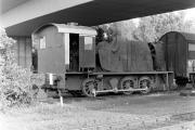V 36 255 des HSW 1991 im Bahnhof Wesel